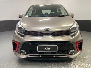 2019 Kia Picanto JA MY19 GT-Line Silver 4 Speed Automatic Hatchback.