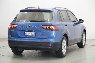 2017 Volkswagen Tiguan 5N MY17 110TSI DSG 2WD Trendline Caribbean Blue 6 Speed
