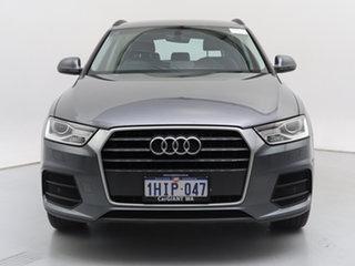 2017 Audi Q3 8U MY17 1.4 TFSI (110kW) Grey 6 Speed Automatic Wagon.