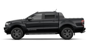 2021 Ford Ranger PX MkIII Wildtrak Shadow Black 6 Speed Automatic Pick Up