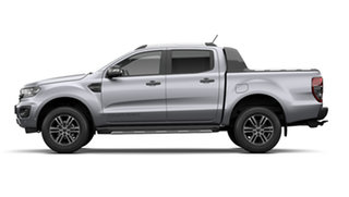 2021 Ford Ranger PX MkIII Wildtrak Aluminium Silver 10 Speed Automatic Double Cab Pick Up