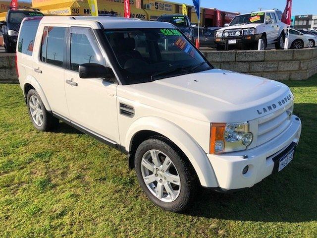 Used Land Rover Discovery 3 Series 3 09MY SE Wangara, 2009 Land Rover Discovery 3 Series 3 09MY SE White 6 Speed Sports Automatic Wagon