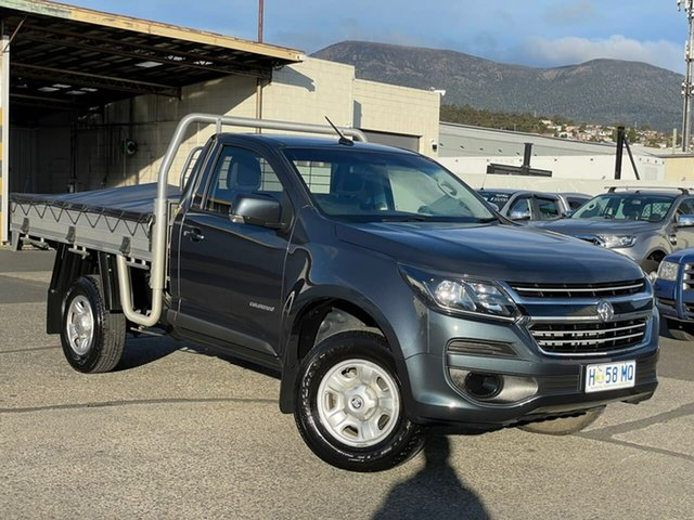 Used Holden Colorado RG MY18 LS 4x2 Moonah, 2018 Holden Colorado RG MY18 LS 4x2 Grey 6 Speed Manual Cab Chassis