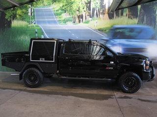 2018 Chevrolet Silverado CK MY18 2500 LTZ Midnight Edition Black 6 Speed Automatic Crew Cab Utility.