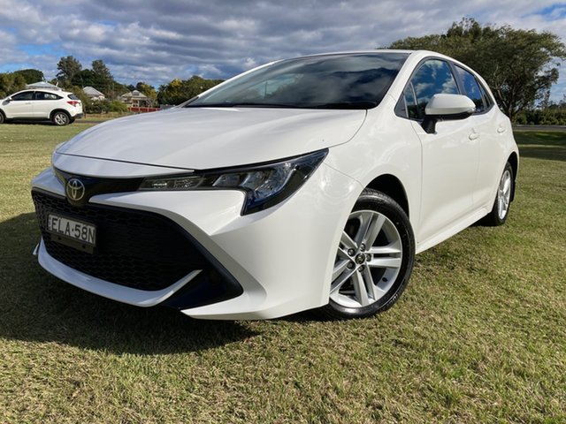 Used Toyota Corolla Mzea12R Ascent Sport South Grafton, 2020 Toyota Corolla Mzea12R Ascent Sport Glacier White 10 Speed Constant Variable Hatchback