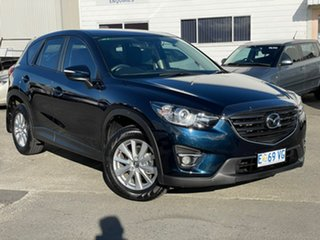 2015 Mazda CX-5 KE1032 Maxx SKYACTIV-Drive AWD Sport Blue 6 Speed Sports Automatic Wagon.