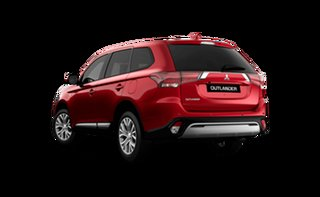2021 Mitsubishi Outlander ZL MY21 ES 2WD Red Diamond 6 Speed Constant Variable Wagon.