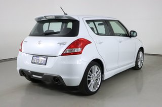 2013 Suzuki Swift FZ MY13 Sport White 6 Speed Manual Hatchback