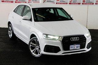 2015 Audi Q3 8U MY15 2.0 TFSI Sport Quattro (132kW) White 7 Speed Auto Dual Clutch Wagon.