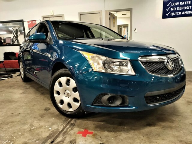 Used Holden Cruze JH Series II MY12 CD Ashmore, 2012 Holden Cruze JH Series II MY12 CD Metallic Blue 6 Speed Sports Automatic Hatchback