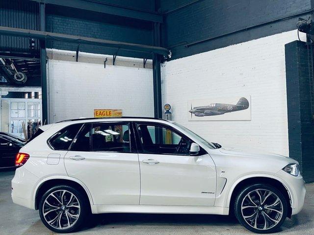 Used BMW X5 F15 xDrive30d Port Melbourne, 2016 BMW X5 F15 xDrive30d White 8 Speed Sports Automatic Wagon