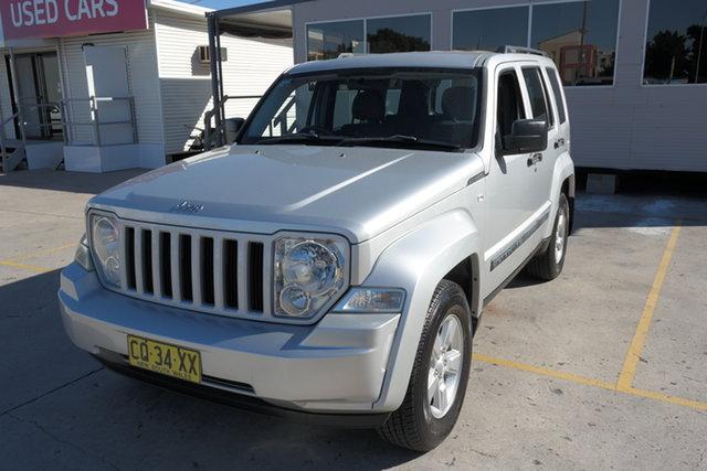 Used Jeep Cherokee KK MY08 Sport Maryville, 2009 Jeep Cherokee KK MY08 Sport Silver 4 Speed Automatic Wagon