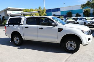 2014 Ford Ranger PX XL Hi-Rider White 6 speed Automatic Utility