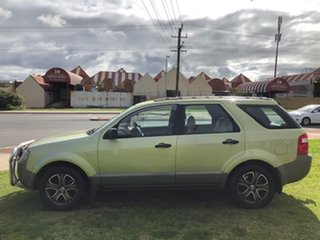2005 Ford Territory SX TX Green 4 Speed Sports Automatic Wagon