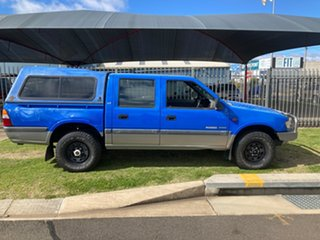 2000 Holden Rodeo TFR9 LT (4x4) Blue 5 Speed Manual Crew Cab Pickup.