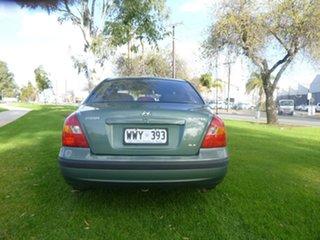 2002 Hyundai Elantra XD GLS Green 4 Speed Automatic Sedan