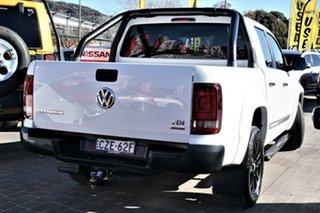 2014 Volkswagen Amarok 2H MY15 TDI420 4MOTION Perm Dark Label White 8 Speed Automatic Utility