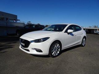 2017 Mazda 3 BN5438 SP25 SKYACTIV-Drive White 6 Speed Automatic Hatchback.