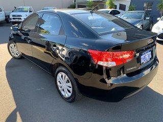 2009 Kia Cerato TD MY09 S Black 4 Speed Sports Automatic Sedan.
