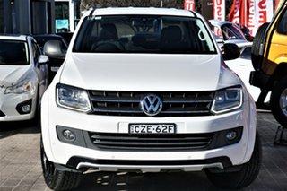 2014 Volkswagen Amarok 2H MY15 TDI420 4MOTION Perm Dark Label White 8 Speed Automatic Utility.