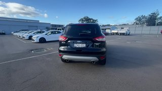 2015 Ford Kuga TF MY15 Titanium PwrShift AWD Black 6 Speed Sports Automatic Dual Clutch Wagon.