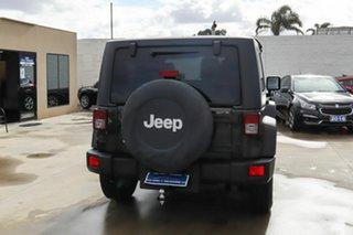 2011 Jeep Wrangler JK MY2010 Sport Green 6 Speed Manual Softtop