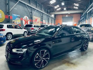 2015 Audi A4 B8 8K MY15 S Line S Tronic Quattro Sport Plus Grey 7 Speed Sports Automatic Dual Clutch