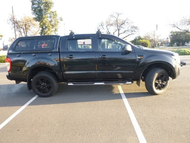 Used Ford Ranger PX XL Hi-Rider Beverley, 2013 Ford Ranger PX XL Hi-Rider Black Sports Automatic Utility