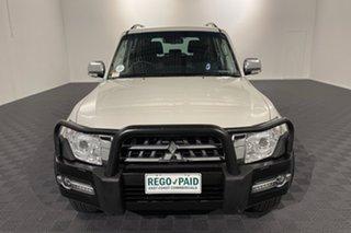 2019 Mitsubishi Pajero NX MY19 GLS White 5 speed Automatic Wagon.
