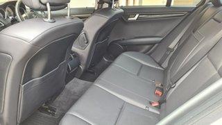 2014 Mercedes-Benz C200 W204 MY14 Avantgarde Cuban Silver 7 Speed Automatic G-Tronic Sedan