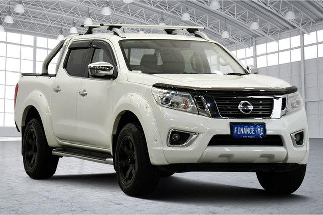 Used Nissan Navara D23 S2 ST-X Victoria Park, 2017 Nissan Navara D23 S2 ST-X White 7 Speed Sports Automatic Utility