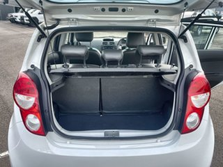 2013 Holden Barina Spark MJ MY13 CD White 4 Speed Automatic Hatchback