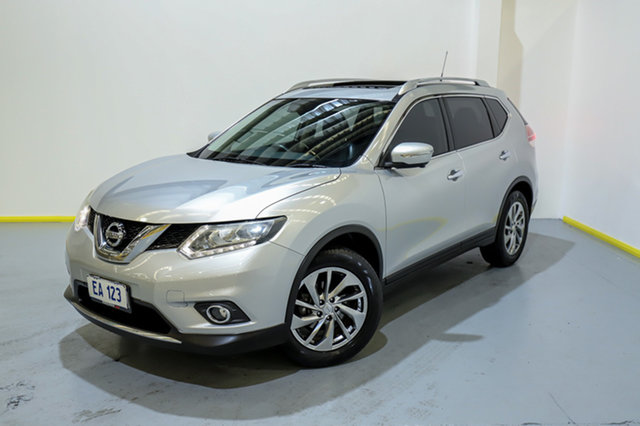 Used Nissan X-Trail T32 Ti X-tronic 4WD Canning Vale, 2014 Nissan X-Trail T32 Ti X-tronic 4WD Silver 7 Speed Constant Variable Wagon