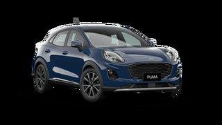 2021 Ford Puma JK Puma Blazer Blue 7 Speed Automatic.