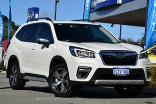 2020 Subaru Forester S5 MY20 2.5i-S CVT AWD Crystal White Pearl 7 Speed Constant Variable Wagon.