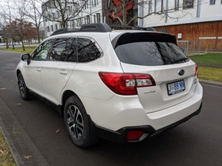 2018 Subaru Outback B6A MY18 2.0D CVT AWD Crystal White Pearl 7 Speed Constant Variable Wagon