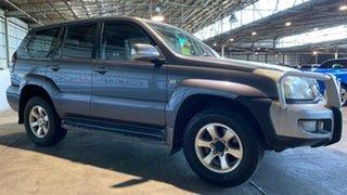 2005 Toyota Landcruiser Prado GRJ120R GXL Grey 5 Speed Automatic Wagon.