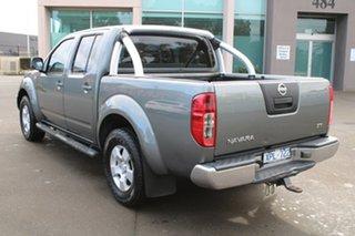 2010 Nissan Navara D40 ST (4x4) Grey 6 Speed Manual Dual Cab Pick-up