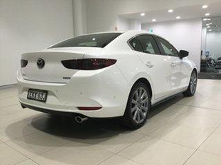 2020 Mazda 3 BP2SLA G25 SKYACTIV-Drive Evolve White 6 Speed Sports Automatic Sedan.