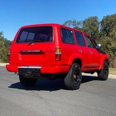 1990 Toyota Landcruiser HDJ80R Red