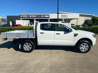 2014 Ford Ranger PX XL White/140614 6 Speed Sports Automatic Cab Chassis.
