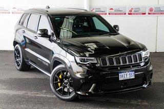 2018 Jeep Grand Cherokee WK MY18 Trackhawk (4x4) Black 8 Speed Automatic Wagon.