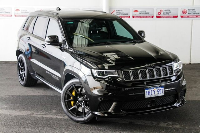 Pre-Owned Jeep Grand Cherokee WK MY18 Trackhawk (4x4) Rockingham, 2018 Jeep Grand Cherokee WK MY18 Trackhawk (4x4) Black 8 Speed Automatic Wagon