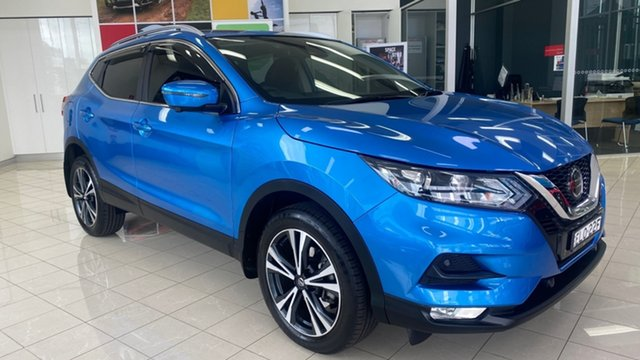 Used Nissan Qashqai J11 Series 3 MY20 ST-L X-tronic Cardiff, 2019 Nissan Qashqai J11 Series 3 MY20 ST-L X-tronic Blue 1 Speed Constant Variable Wagon
