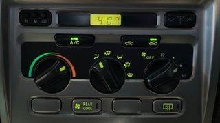 2005 Toyota Landcruiser UZJ100R GXL White 5 Speed Manual Wagon