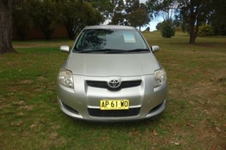 2007 Toyota Corolla ZRE152R Ascent Silver, Chrome 4 Speed Automatic Hatchback.