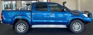 2013 Toyota Hilux KUN26R MY12 SR5 Double Cab Blue 4 Speed Automatic Utility.