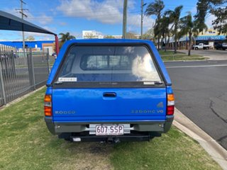2000 Holden Rodeo TFR9 LT (4x4) Blue 5 Speed Manual Crew Cab Pickup