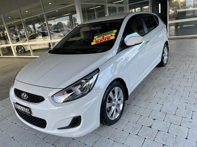 Used Hyundai Accent Sport Taree, 2019 Hyundai Accent Sport White Sports Automatic Hatchback