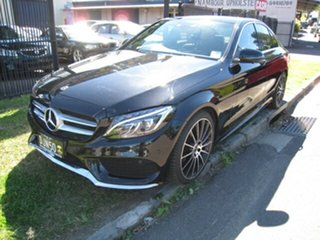 2017 Mercedes-Benz C200 205 MY17.5 Sport Edition Black 9 Speed Automatic G-Tronic Sedan.